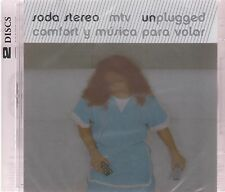 2 CD's - Soda Stereo MTV Unplugged Comfort Y Musica Para Volar -  NOW SHIPPING !