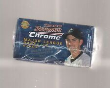 2000 BOWMAN CHROME DRAFT PICKS AND PROSPECTS SEALED SET ADRIAN GONZALEZ ROOKIE