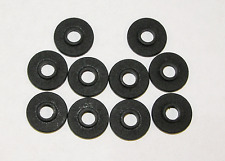 100 Tattoo Machine #8 Over sized Black Fiber Shoulder Washers Binder Parts USA