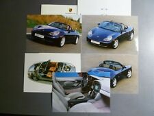 1999 Porsche Boxster Roadster Press Kit Pressemaappe RARE!! Awesome L@@K