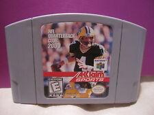NFL Quarterback Club 2000  (Nintendo 64, 1999)