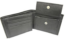 4-Pack Men's Leather Wallet Classic Bi-Fold ID Case CreditCard Holder Gift Black