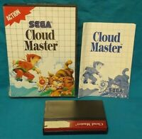 Cloud Master  - SEGA SMS Master System Rare Game Works Complete Authentic