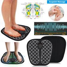EMS Physiotherapy Massage Mat Electric Vibration Foot Acupoints Massager Relieve