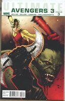 Ultimate Avengers 3 2010 series # 3 near mint comic book