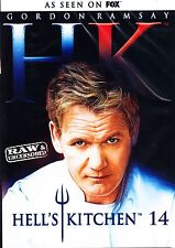 HELLS Kitchen Season 14 R1 DVD 5 Disc Gordon Ramsay Release