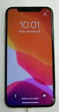 Apple iPhone X - 64GB - Silver (AT&T LOCKED) A1901 (GSM)