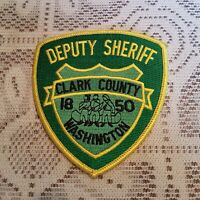 Clark County 1850 Deputy Sheriff Police Patch Crest Logo Applique