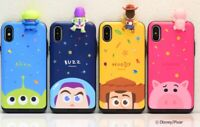 Official Disney Toy Story Figure Card Phone Case For iPhone X XS MAX XR 8 7