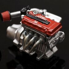 1/24 Resin Honda B18-B16 Engine Kit With Racing Exhaust