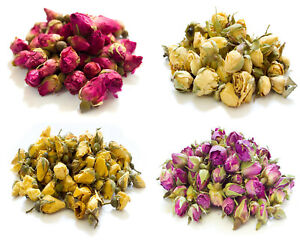 Dried Rose Buds, Dried Rose Petals, Pink Yellow Soap Craft Confetti Potpourri