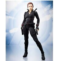 Black Widow Action Figure Marvel Avengers  Natasha Romanoff Gift PVC  6inch