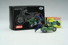 Schuco Piccolo / Zündapp KS 601 w/ Sidecar & 2 Figurines / Item # SHU05073