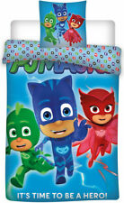 Pj Mask kids Single Bed Cover+pillowcase  New