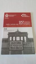 San Marino 2014 5 Euro Berlin Wall Blister