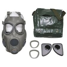 CZECH ARMY M10 GAS MASK BAG  SEALED FILTERS EXTRA LEN COVERS UNISSUED MILITARY