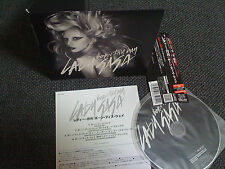 LADY GAGA / born this way /JAPAN LTD CD OBI