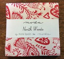 """North Woods by Kate Spain for Moda  - fabric Charm Pack - 5"""" squares"""