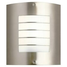 Kichler Outdoor Wall Sconce Brushed Nickel Newport Collection New