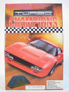"""Turbo Champions Computer Game Mastertronic Vintage Software With 3 1/2"""" Disk"""