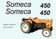 Kit stickers pour tracteur Someca 450