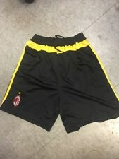 AC Milan Black Shorts Size Medium