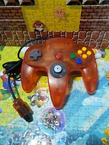 Nintendo 64 N64 Fire Orange Controller Untested