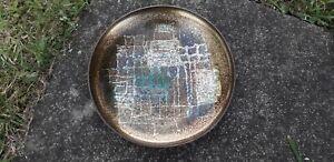 BJORN ENGO NORWAY ENAMEL COPPER MID CENETURY RETRO MODERNIST DISH PLATE BOWL