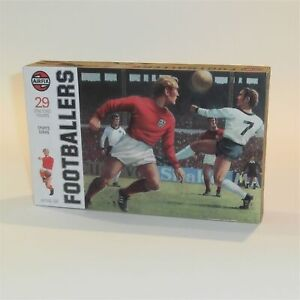 Airfix Empty Repro Box #51470 Sports Series Footballers 1:32 Scale