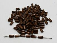 1000 Brown Wood Column Tube Beads 4X8mm~Wooden Spacer