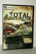 TOTAL DESTRUCTION TANKS A LOT GIOCO USATO PC CD ROM VERSIONE ITALIANA GD1 47369