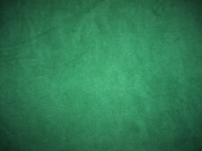 Hunter Dark Green Solid Color Anti-Pill Fleece Fabric  by the Yard   BTY
