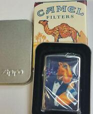 Zippo Camel # Z 225 Camel Tuxedo Joe 1996 Technographic Chip VERY RARE MNT