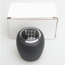 Manual 6 Speed For Chevrolet Cruze Gear Shift Knob head Handball Leather Black