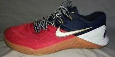 Nike Metcon 3 Men's 6 training Shoes Red White Swoosh Blue