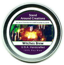 Premium 100% All Natural Soy Wax Candle - 2 oz Tin - Witches Brew