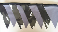 Jungle Camouflage Fabric Bunting Garden Party Bedroom Decoration 2mt Child' gift