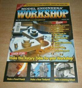 Model Engineers Workshop magazine #306 Aug 2021 Make this Rotary Table, Data Tab