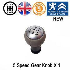 Peugeot Gear Knob GearStick 1007 206 207 301 307 Manual 5 SPEED Original New