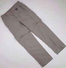 NORTH Face MENS Pants MEDIUM Convertible PANT Size AT9M Hiking HORIZON Camping**