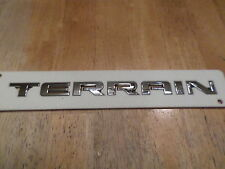 "Chevy Terrain 2010-2015 (Terrain wording) hatch ""Emblem"""