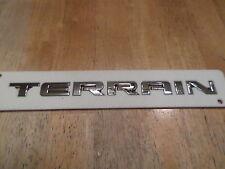 "Chevy Terrain 2010-2015 (Terrain wording) hatch ""Emblem"""