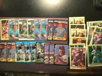 1981-86-FLEER-DONRUSS-ROBIN YOUNT 27 BASEBALL CARD LOT MILWAUKEE BREWERS-MINT 🔥