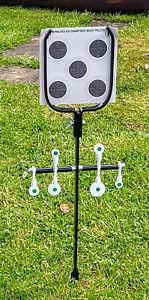Air Gun Rifle Spinner Targets ,Heavy Duty Metal,Spinning,Plinking, PP33