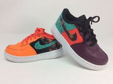Nike Air Force 1 Toddler Sneakers Sz 9C LV8 South Beach Multicolor Kid Infant