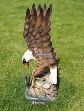 Indianer Cowboy Adler Dekoration Figur Statue Weißkopfadler USA Eagle Schlange