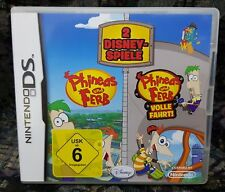 Nintendo DS NDS Lite Spiel Phineas 1 + 2 Doppelpack ohne Anleitung