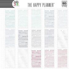 ALPHABET edition Create 365 The Happy Planner MAMBI 4180 stickers