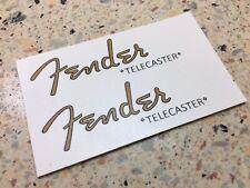 Fender Telecaster Waterslide Decal X2