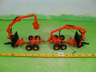 vintage britains diecast autoway ? unknown implement x2 collectable toy 1350